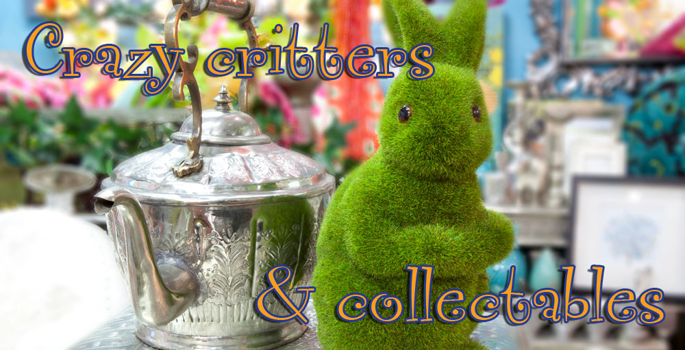 Crazy critters and collectables