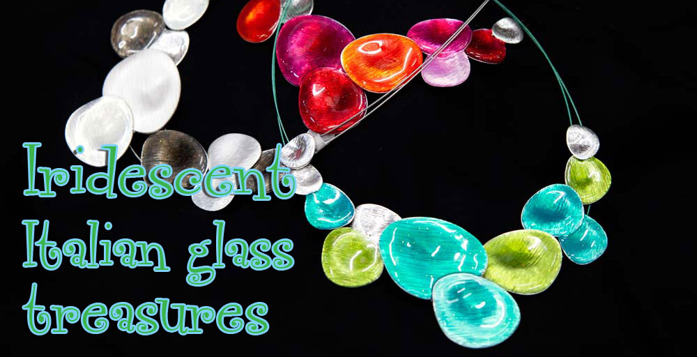 Iridescent Italian glass treasures